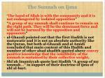 the sunnah on ijma14