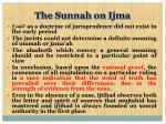 the sunnah on ijma16
