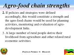 agro food chain strengths1