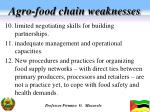 agro food chain weaknesses2