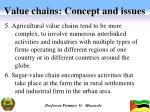 value chains concept and issues2