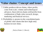 value chains concept and issues3