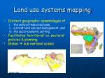 land use systems mapping