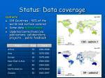 status data coverage
