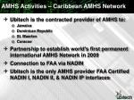 amhs activities caribbean amhs network