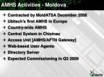 amhs activities moldova