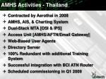 amhs activities thailand