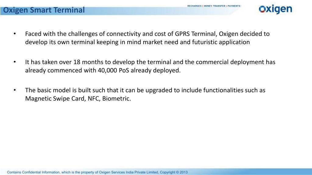 Oxigen Smart Terminal