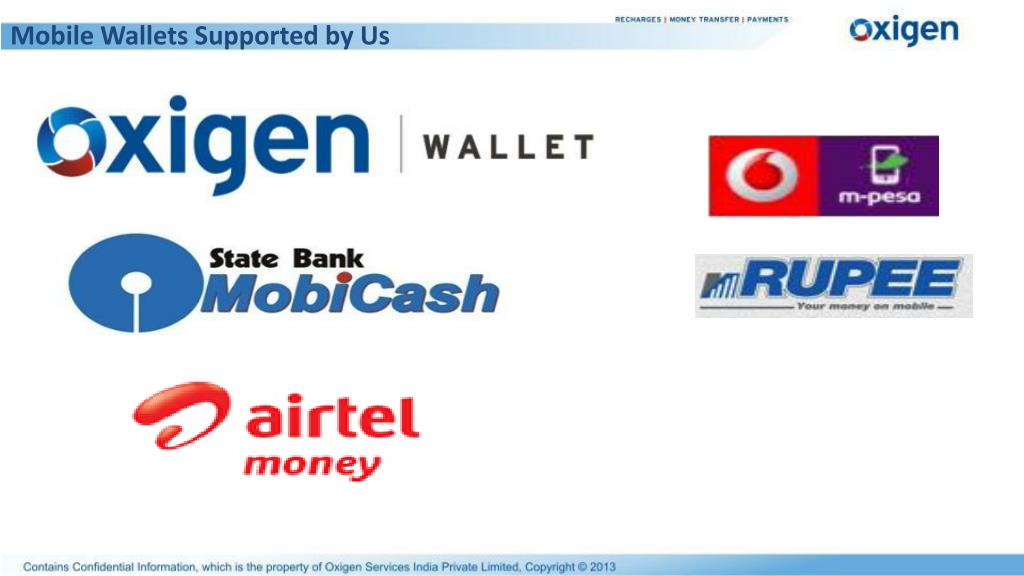 Mobile Wallets Supported by Us