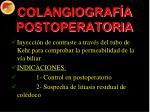 colangiograf a postoperatoria