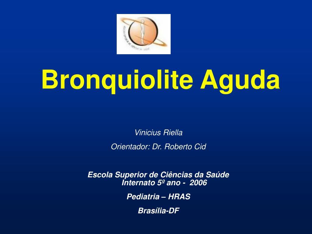 bronquiolite aguda l.
