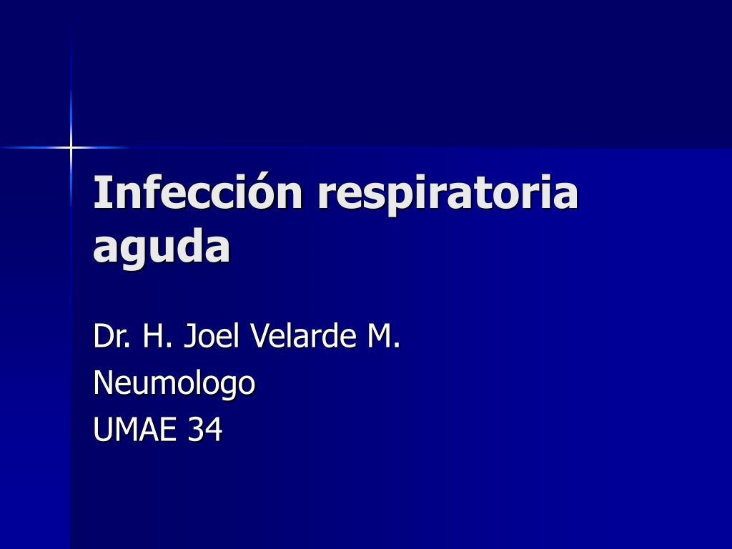 infecci n respiratoria aguda l.