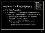 asymmetric cryptography32