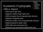asymmetric cryptography35