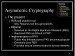 asymmetric cryptography36