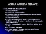 asma aguda grave24