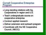 cornell cooperative enterprise program