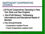 northeast cooperative council