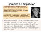 ejemplos de ampliaci n15