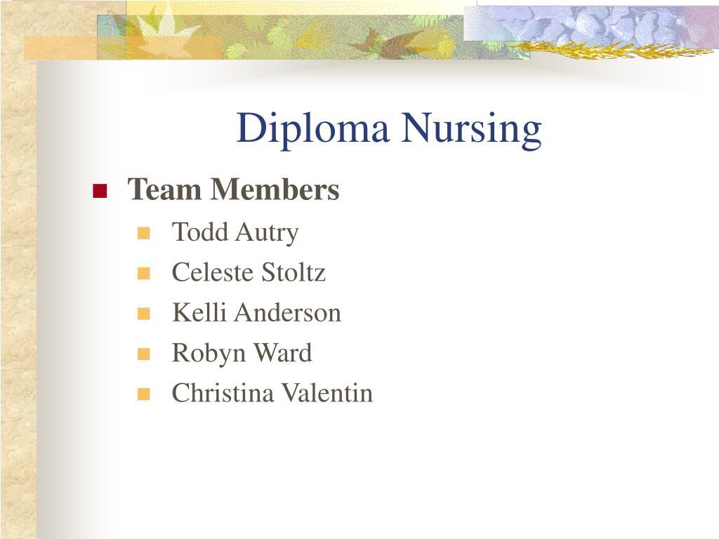 diploma nursing l.