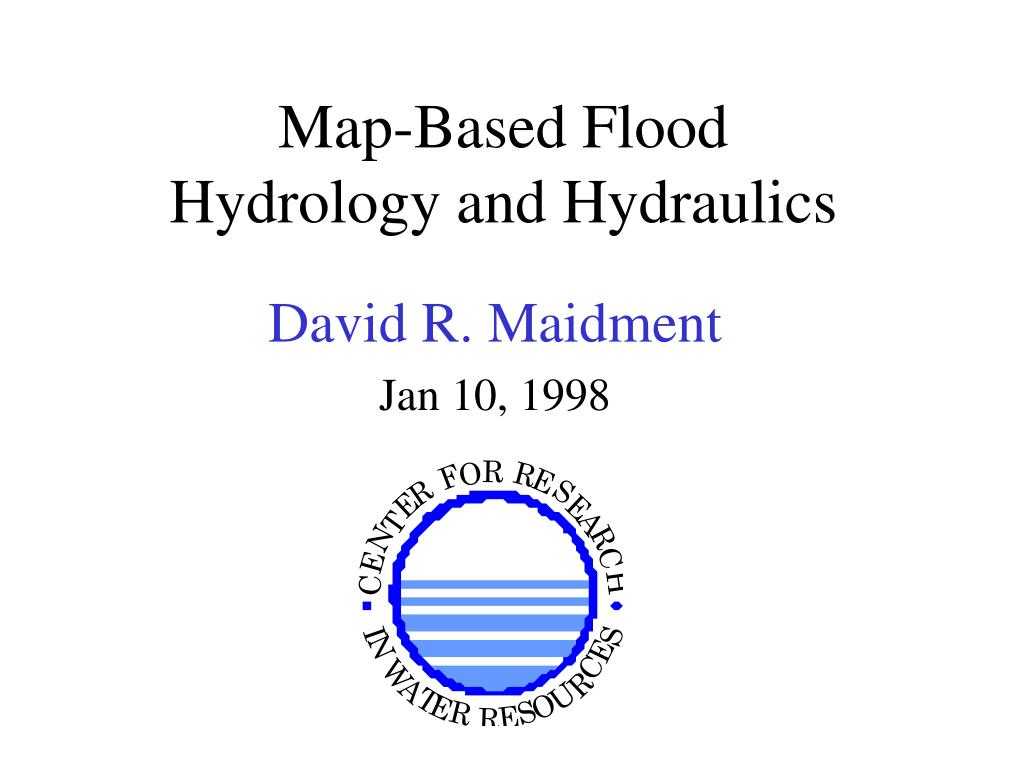 map based flood hydrology and hydraulics l.