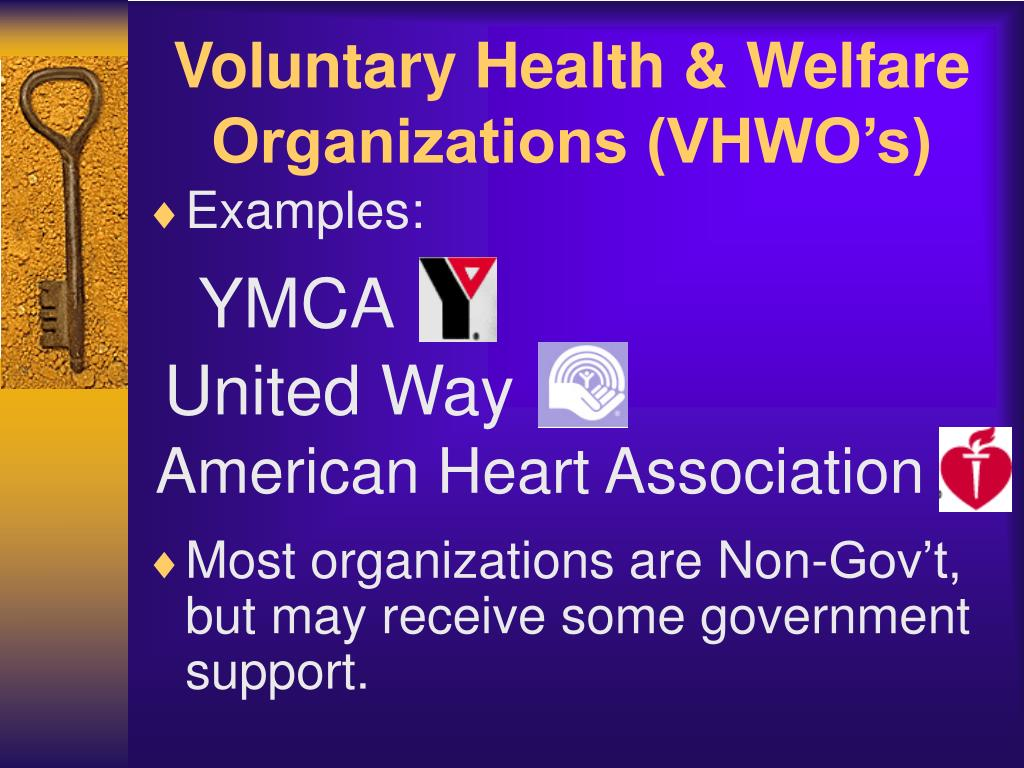 voluntary health welfare organizations vhwo s l.