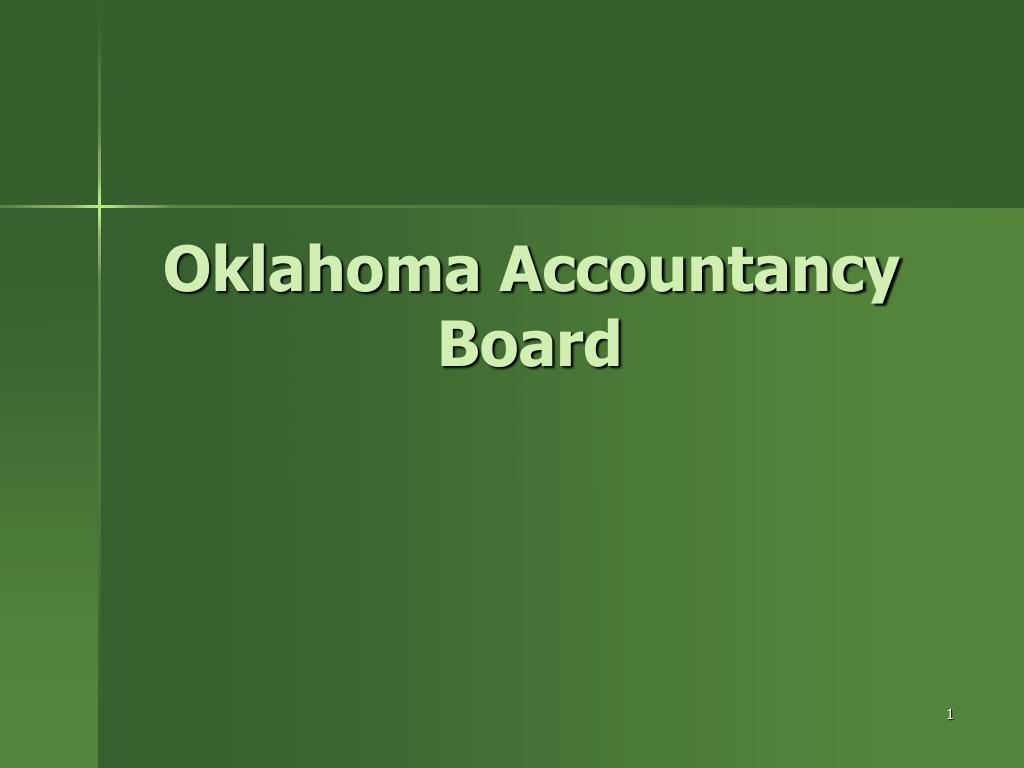 oklahoma accountancy board l.