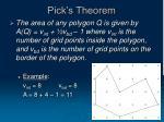 pick s theorem18