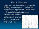 pick s theorem19