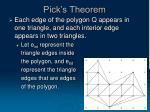 pick s theorem20