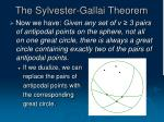 the sylvester gallai theorem14