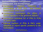 national pension commission supervision and examination