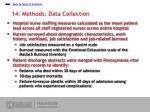 14 methods data collection