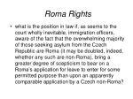 roma rights