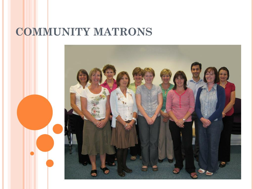 community matrons l.