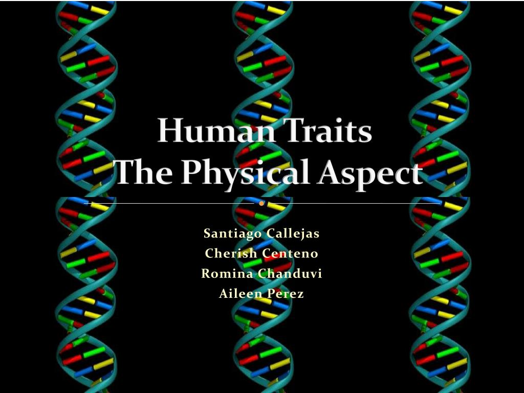human traits the physical aspect l.