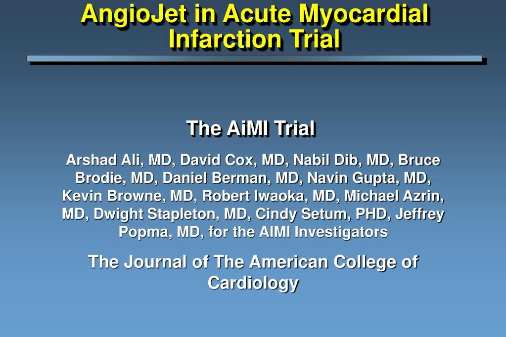the aimi trial l.