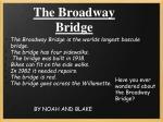 the broadway bridge