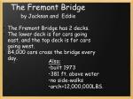 the fremont bridge
