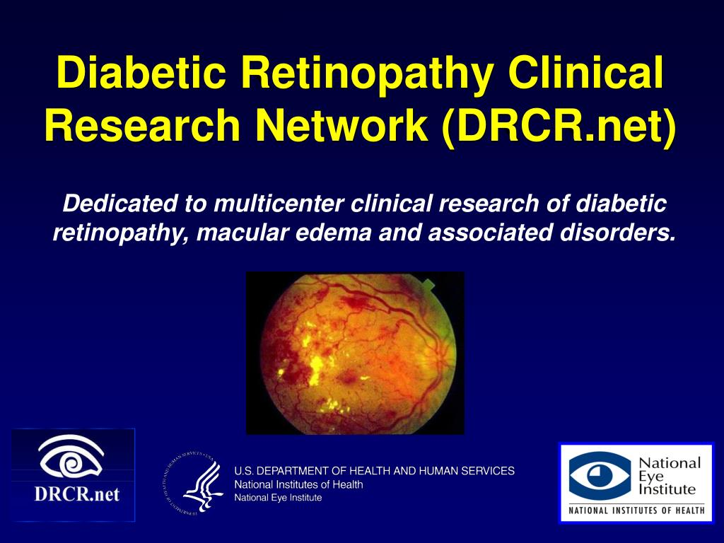 diabetic retinopathy clinical research network drcr net l.