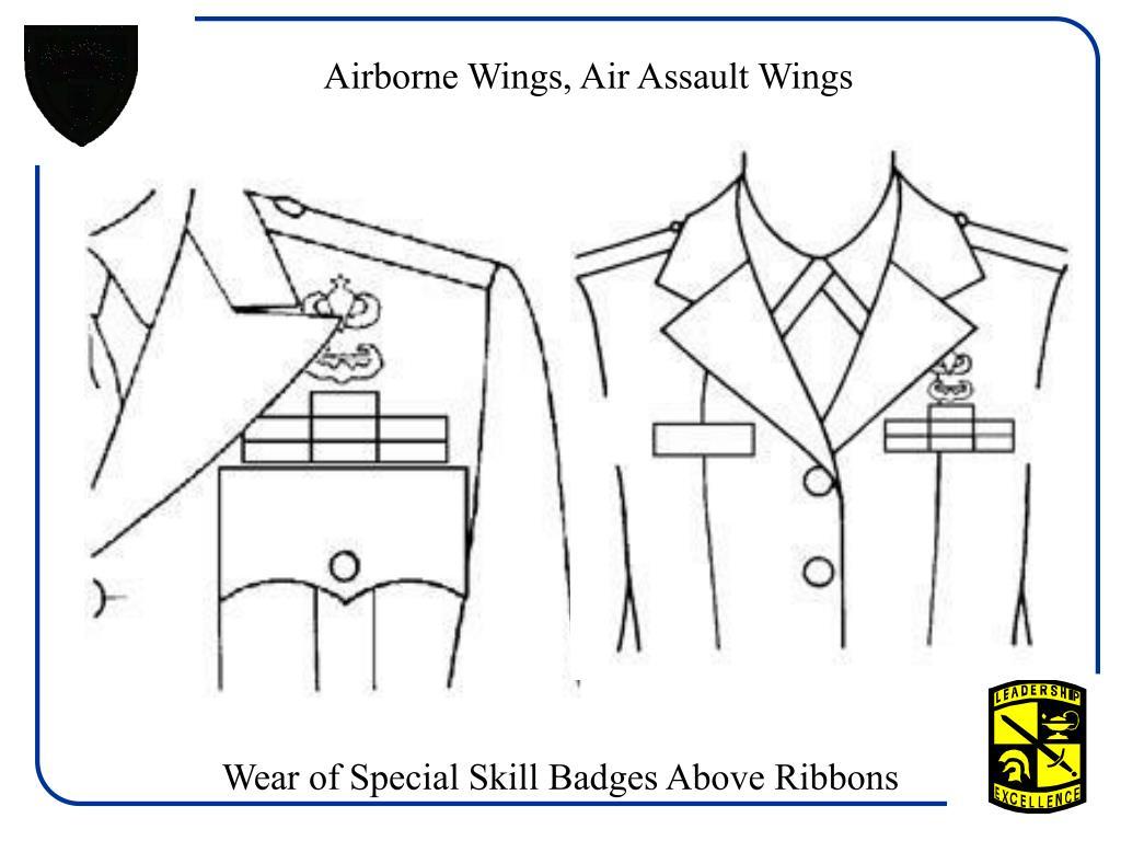 Airborne Wings, Air Assault Wings