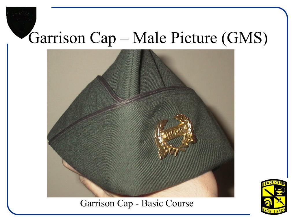 Garrison Cap – Male Picture (GMS)