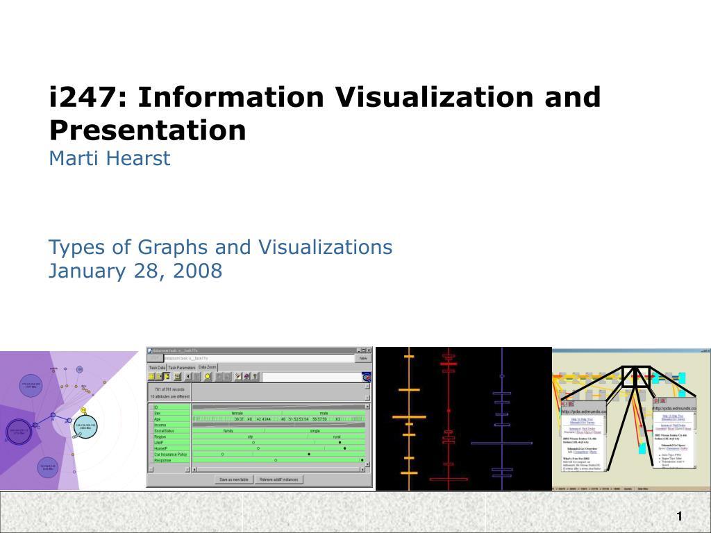 i247 information visualization and presentation marti hearst l.