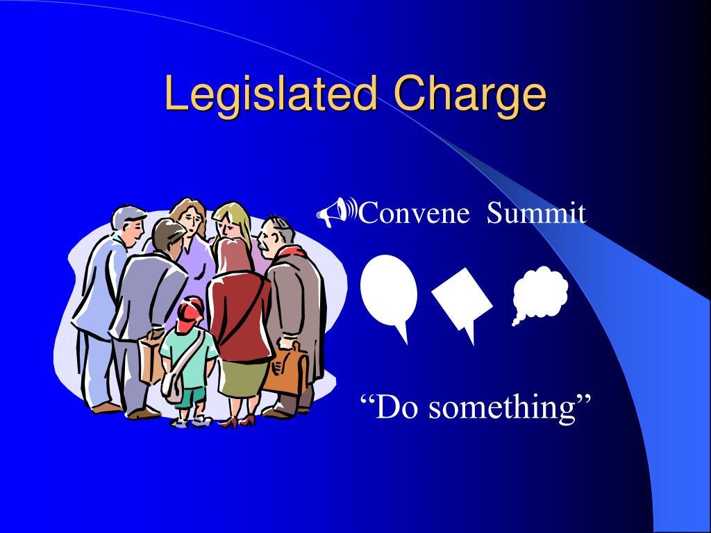 Legislated Charge