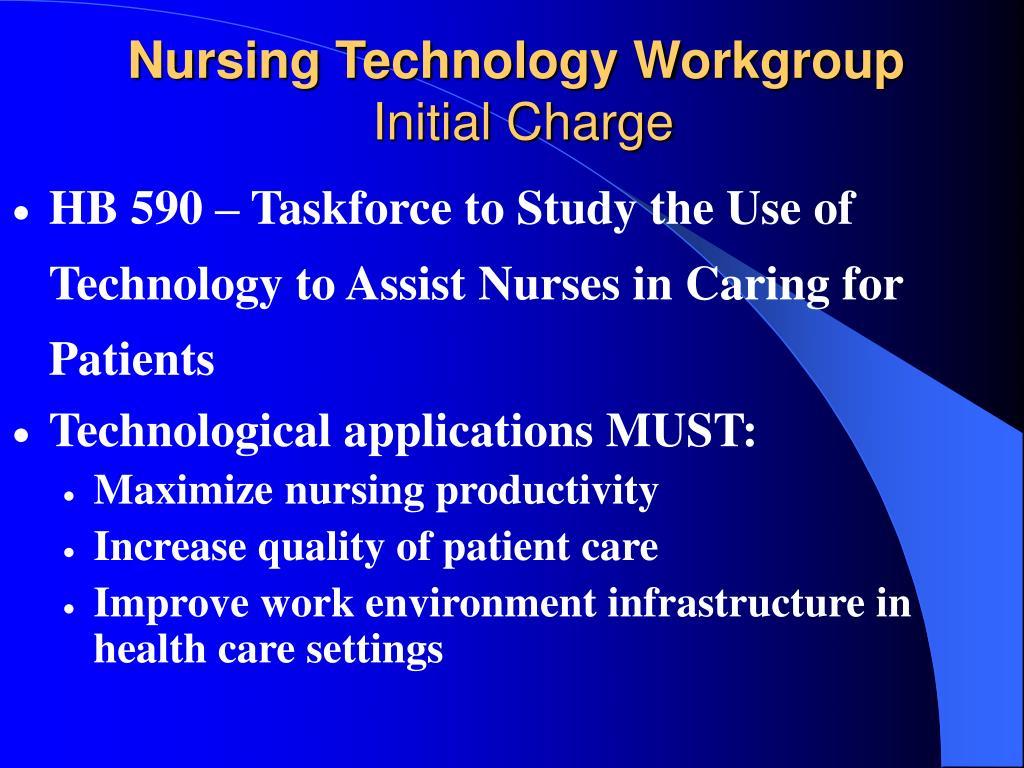 Nursing Technology Workgroup