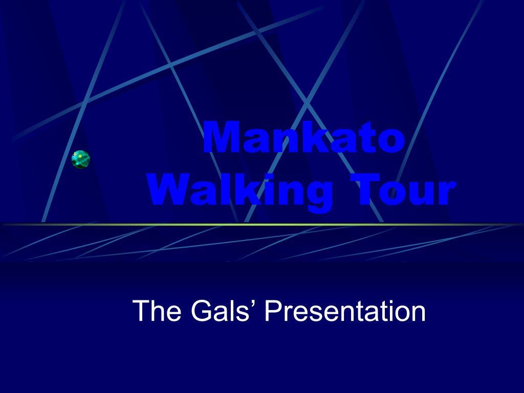 mankato walking tour l.