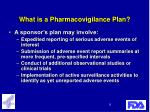 what is a pharmacovigilance plan13