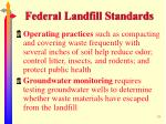 federal landfill standards39