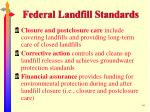 federal landfill standards40