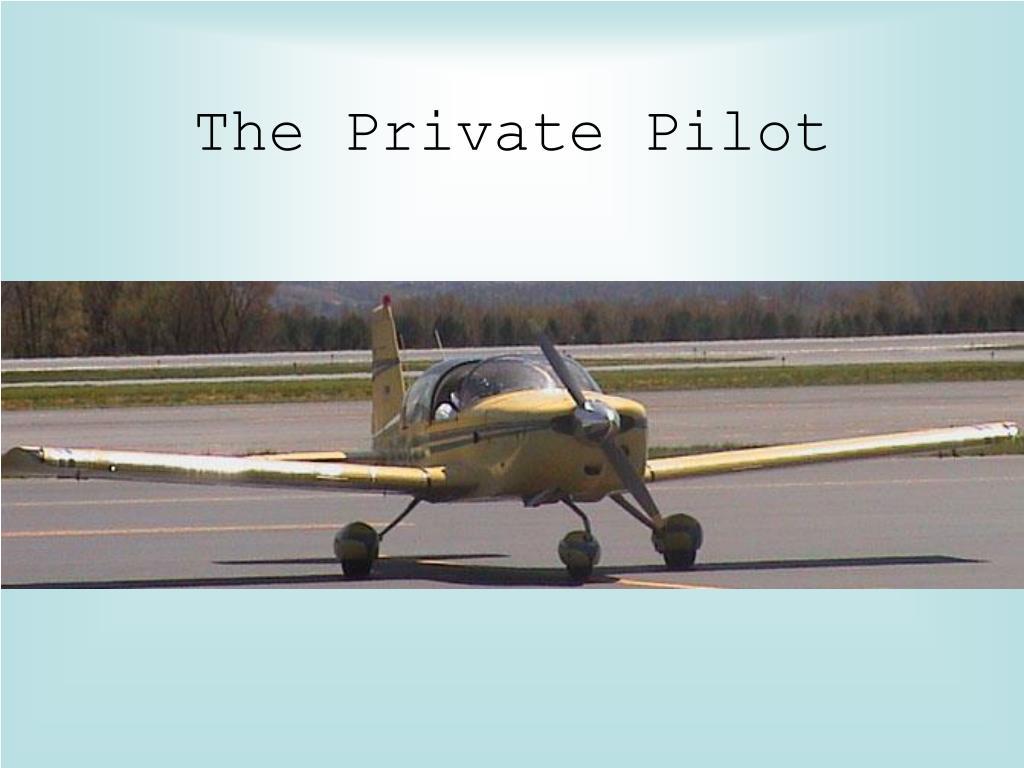 the private pilot l.